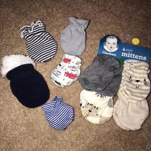 Baby mittens bundle